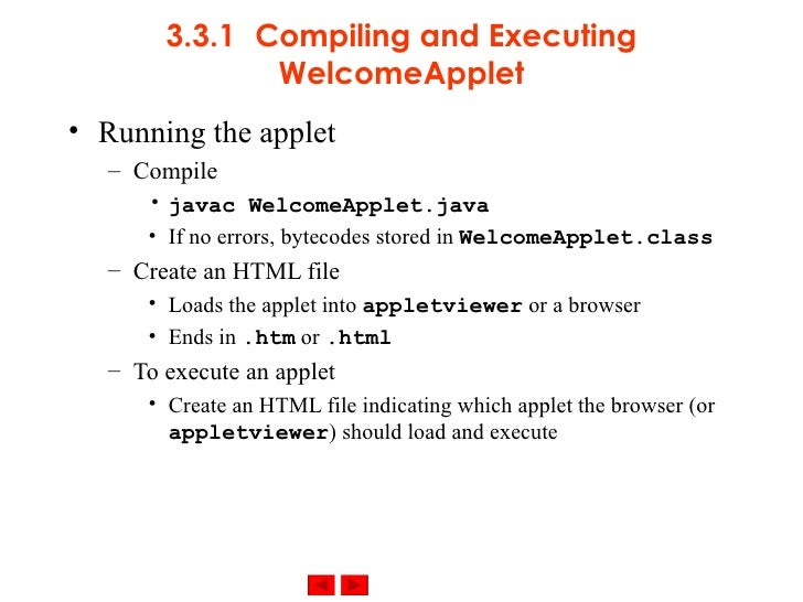 java applet download and execute file