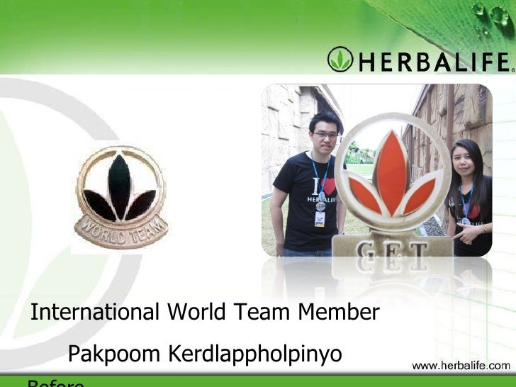 International World Team Member Pakpoom Kerdlappholpinyo Before