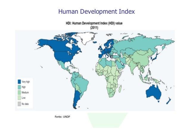 Human Development IndexFonte: UNDP