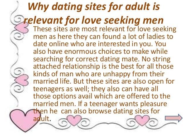 Man to man dating website