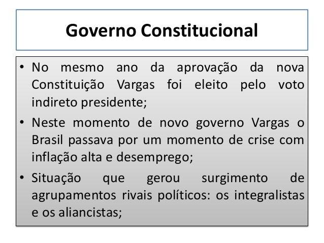 Governo Constitucional