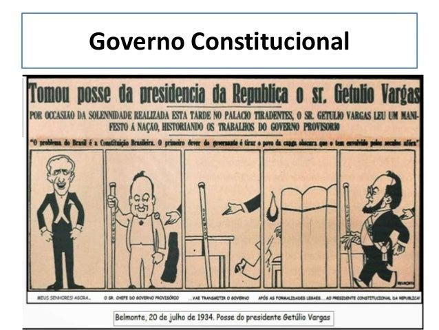 Integralistas • Foi liderado por Plínio Salgado e seguia as ideias do ditador italiano Benito Mussolini; • Em 1932 fundara...