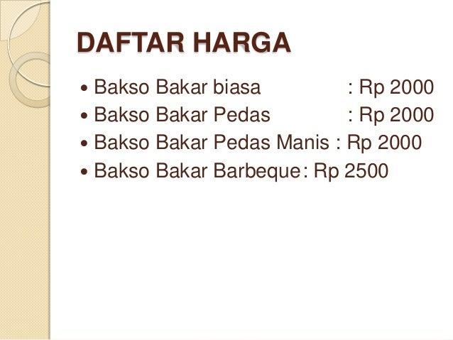 Slide Bakso Bakar