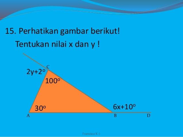 Bangun datar segitiga