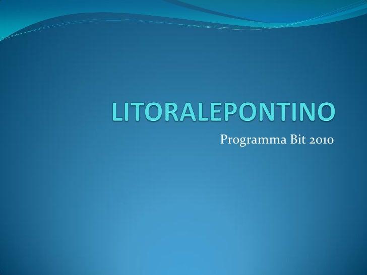 Programma Bit 2010