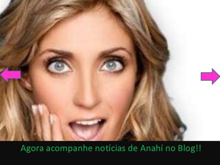 Agora acompanhe notícias de Anahí no Blog!!