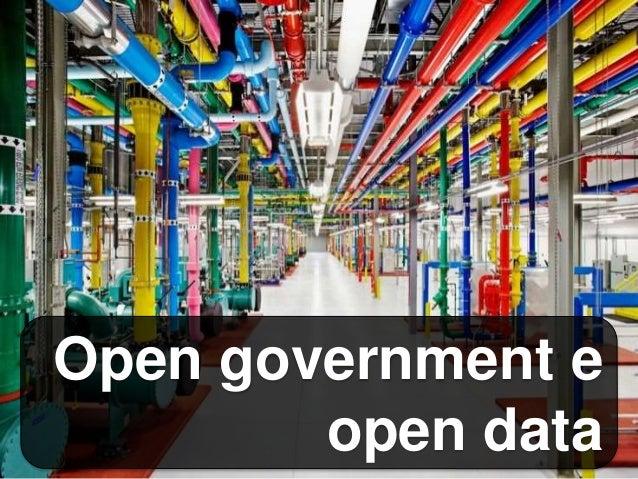 Open government e open data