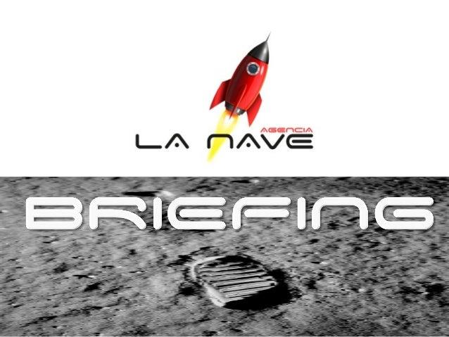 ÍNDICE A. Definición: ¿Qué es el Briefing? B. Objetivos: ¿Cómo y para qué? C. Modelo briefing: Pasos a seguir D. Conclusión