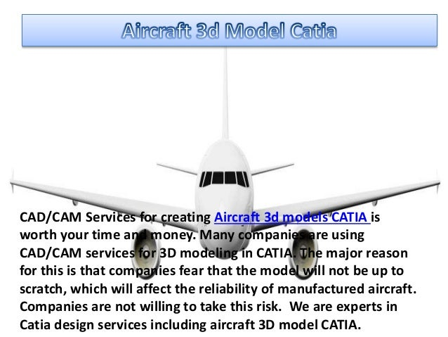 Aircraft Seat Catia Sample Model