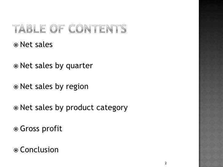 Adidas Financial statement analysis