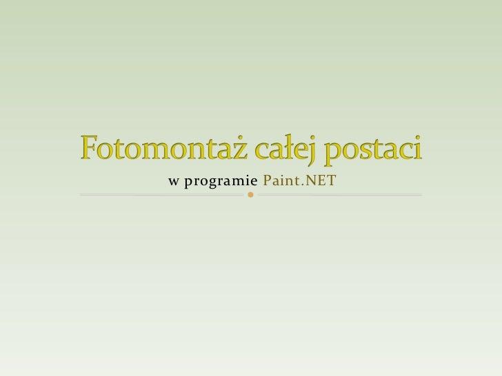 w programie Paint.NET