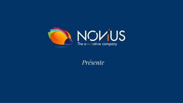 ° NOVUS  The e-n votive company  Présen te