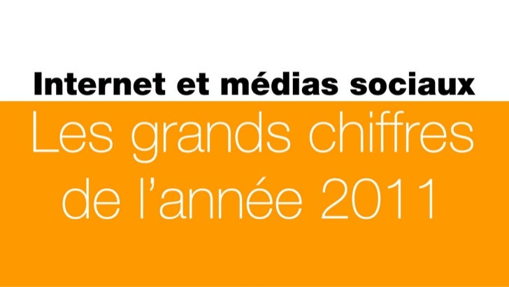 Internet et médias sociaux : les grands chiffres de l'année 2011
