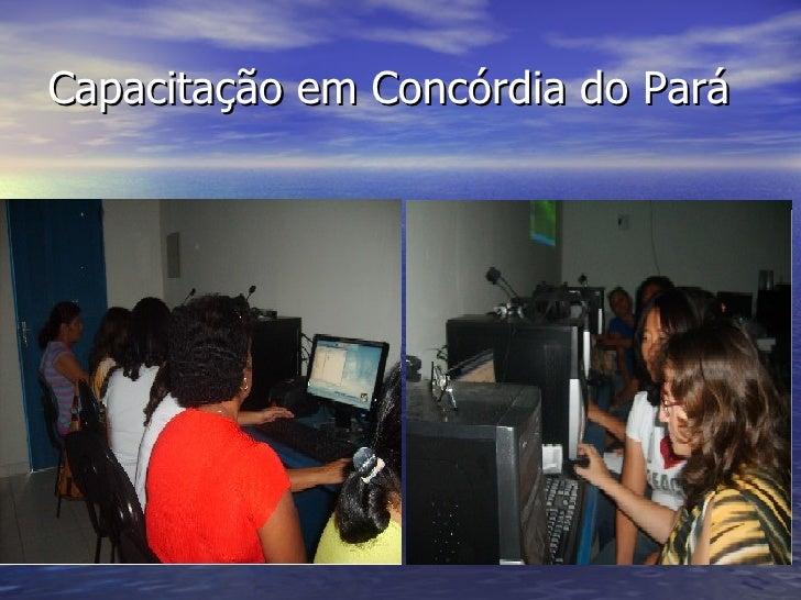 Capacitação em Concórdia do Pará