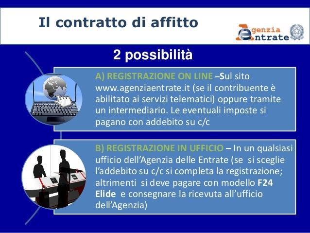 Il contratto di locazione come e quando registrare for Registrazione contratto preliminare di compravendita agenzia delle entrate