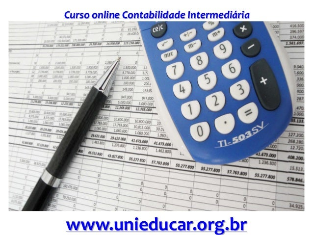 Curso online Contabilidade Intermediária www.unieducar.org.br