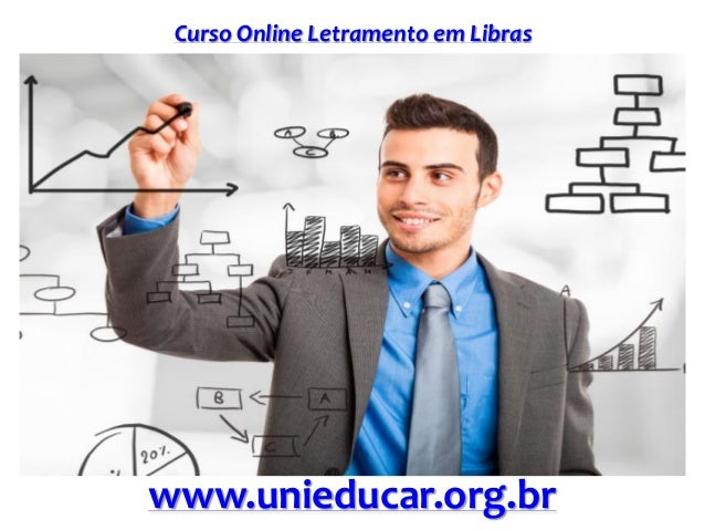 Curso Online Letramento em Libras www.unieducar.org.br