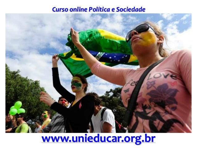 Curso online Política e Sociedade www.unieducar.org.br