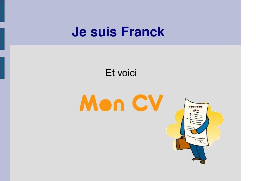 Je suis Franck
