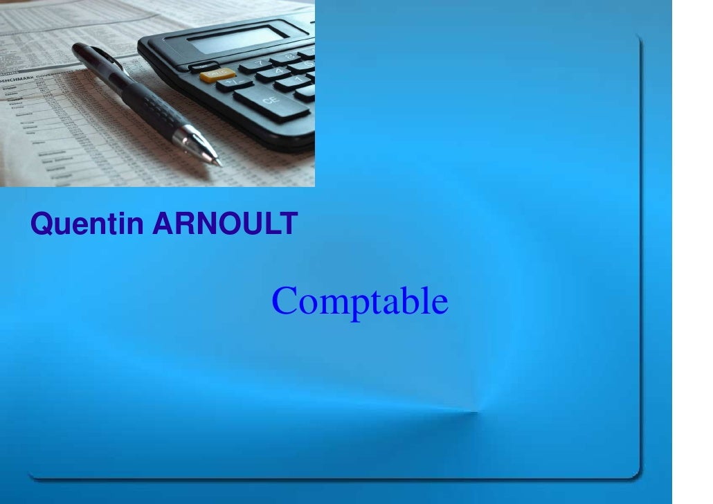Quentin ARNOULT               Comptable