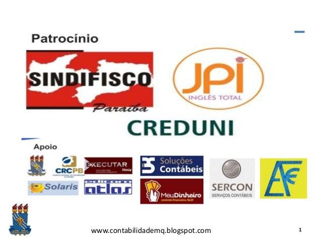 www.contabilidademq.blogspot.com 1