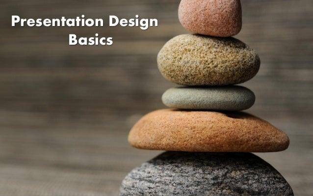 Presentation DesignBasics