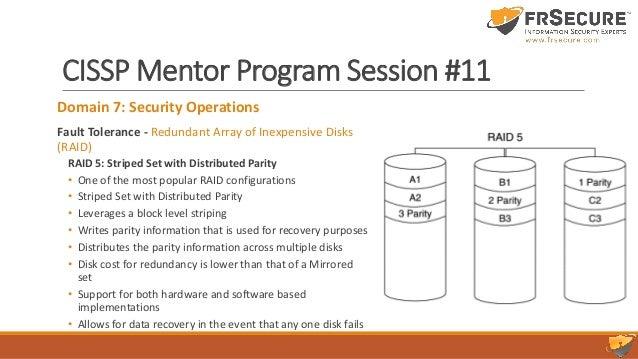 Slide Deck Class Session 11 – FRSecure CISSP Mentor Program