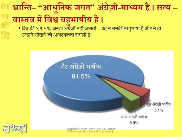 भारत भाषा नीति, एक नई सोच language policy for a new india Slide 3