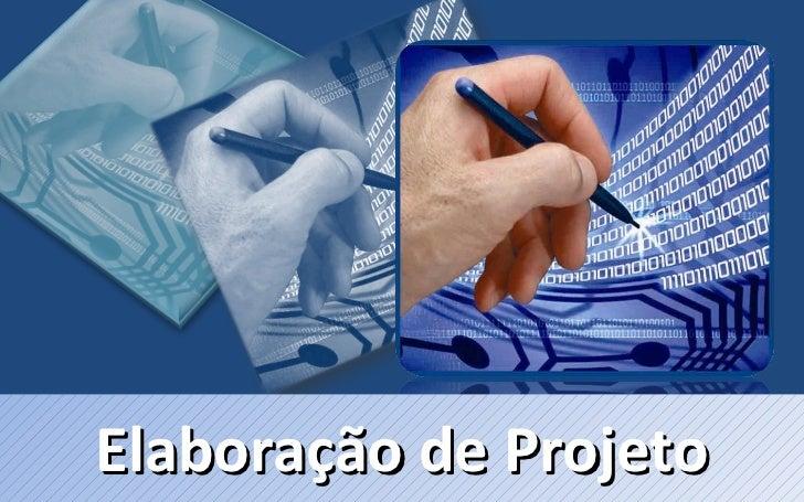 Elaboração de Projeto