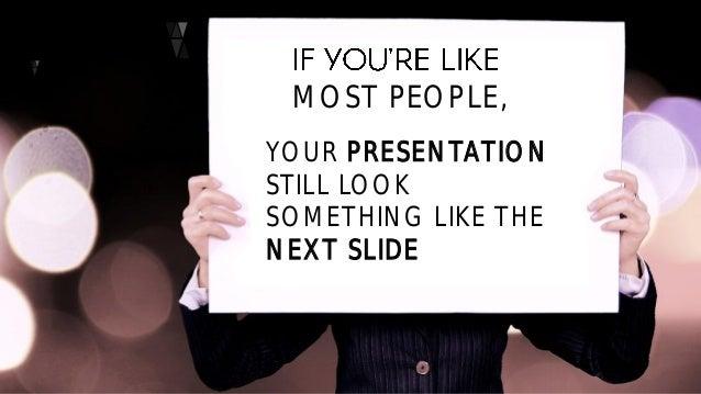 slide design for non designers