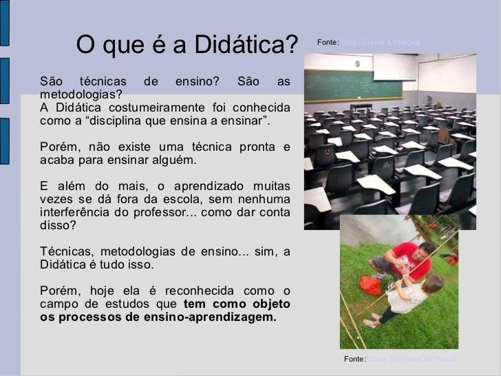 Didática (Antonio Marcos) Slide 2