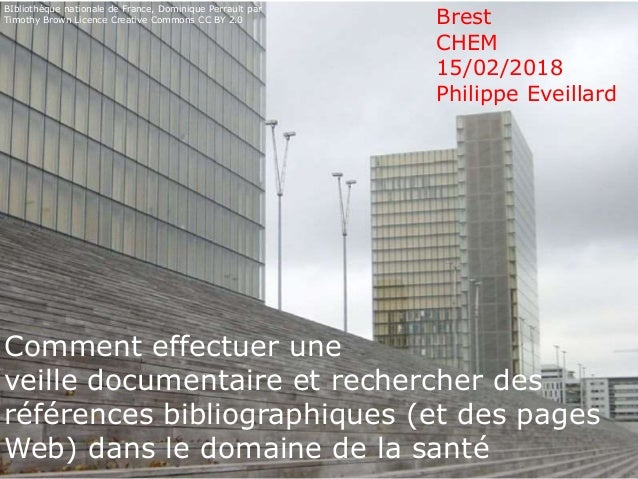 Bibliothèque nationale de France, Dominique Perrault par Timothy Brown Flickr Licence CC BY 2.0 Comment effectuer une veil...