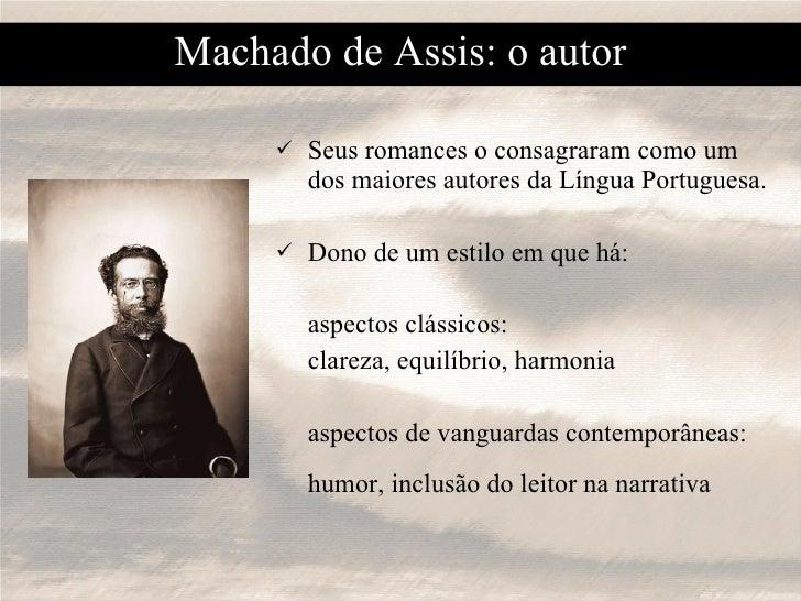 <ul><li>Seus romances o consagraram como um dos maiores autores da Língua Portuguesa. </li></ul><ul><li>Dono de um estilo ...