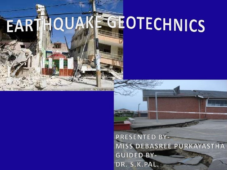 An earthquake is the vibration of Earthproduced by the rapid release ofaccumulated energy in elastically strainedrocks  ...