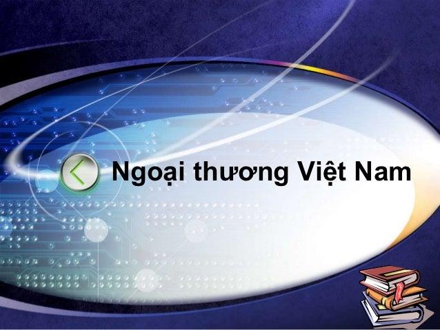 Ngoại thương Việt Nam                  LOGO