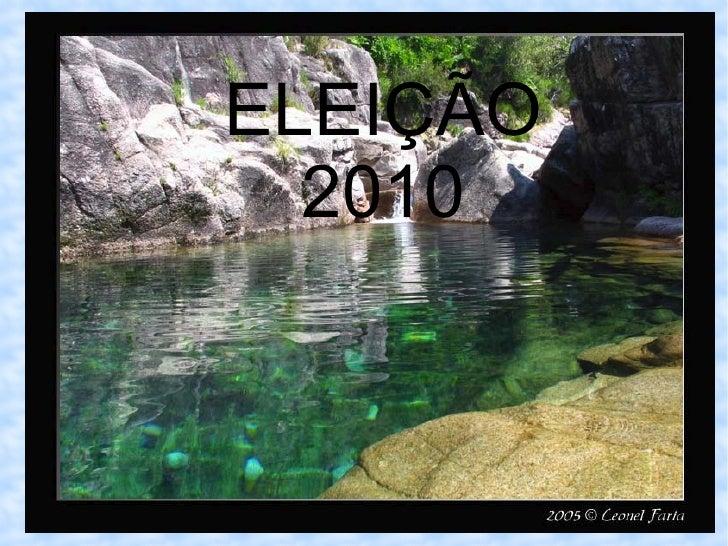 ELEIÇÃO 2010