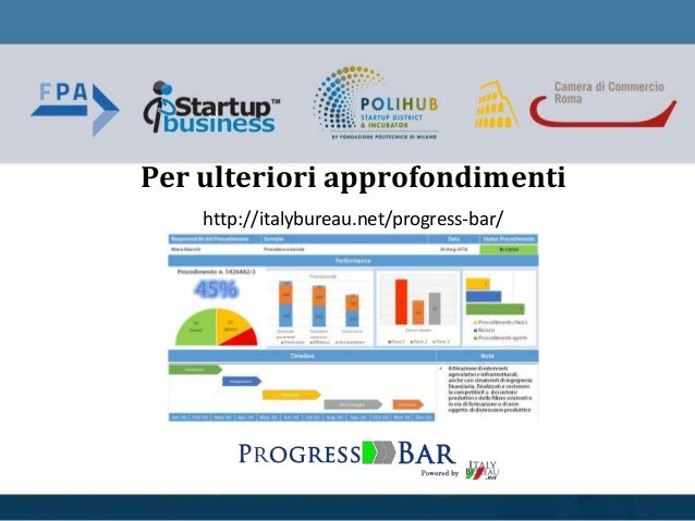 Per ulteriori approfondimenti http://italybureau.net/progress-bar/