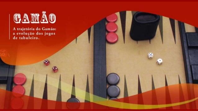 ®A@@*)  A trajctéria do Gaméo:  a evolugio dos jogos dc tabuleiro.