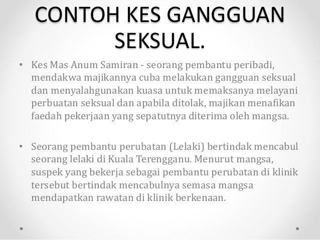 Slide Mengenai Gangguan Seksual Di Tempat Kerja