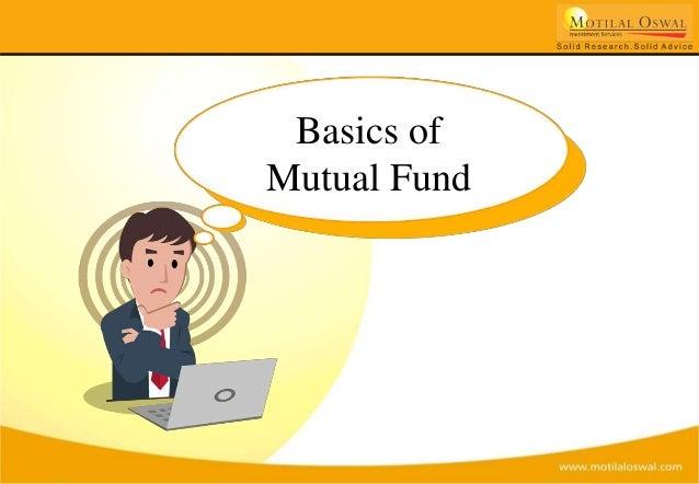 Basics of Mutual Fund