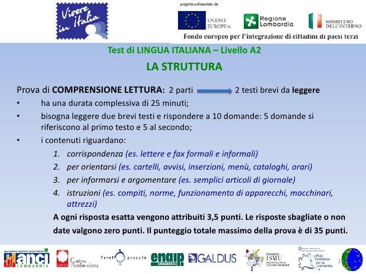 Best Esame Della Lingua Italiana Per Carta Di Soggiorno Images ...