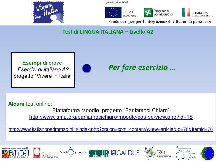 Beautiful Risultati Test Italiano Per Carta Di Soggiorno Ideas ...