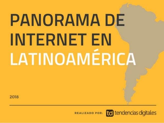 Panorama de internet en Latam