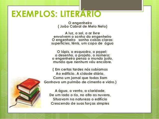 NÃO LITERÁRIO