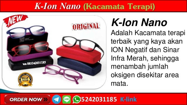 WA 085242031185 Jual Kacamata Rabun Dekat Dan Jauh Ion Nano K-link  Bulukumba. K-Ion Nano (Kacamata Terapi) 085242031185 K-link K-Ion Nano ... d7a45e34d7
