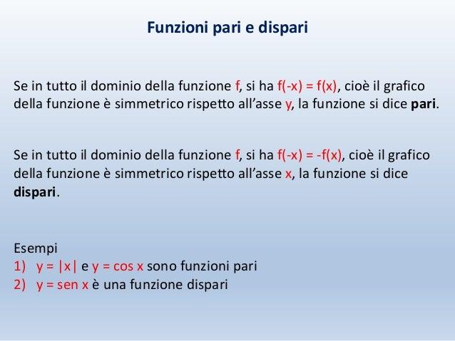 Slide matematica Alessandrini