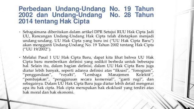 Slide Mengenai Hak Cipta Universitas Dirgantara Marsekal Suryadarma