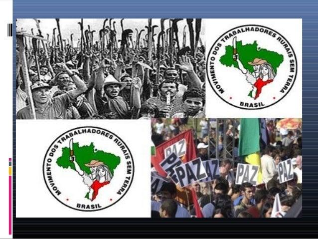 Movimentos Sociais  Um movimento social existe quando um grupo de indivíduos está envolvido num esforço organizado, seja ...