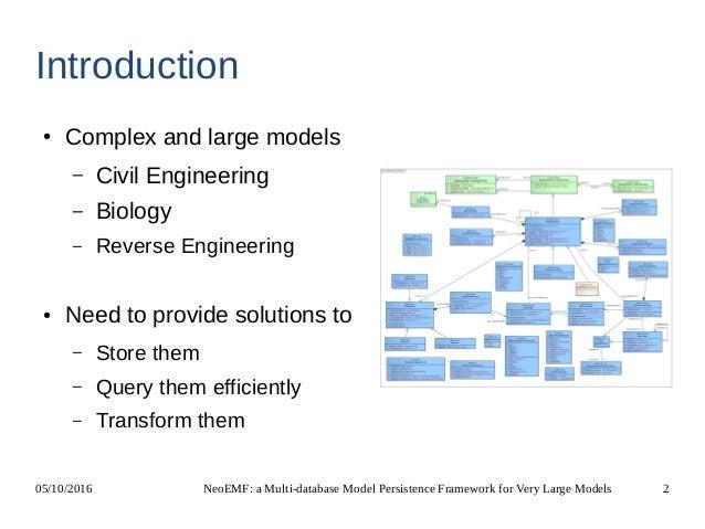 NeoEMF: a Multi-database Model Persistence Framework for Very Large Models Slide 2