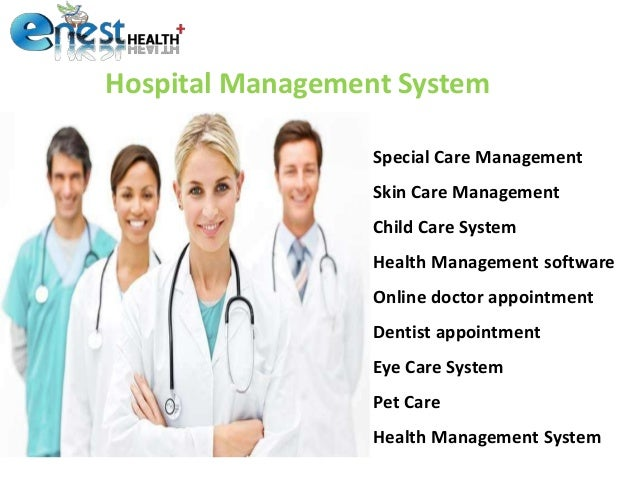 hospital and appointment management purposes The benefits of using a hospital management system search for: toggle navigation the practo blog for doctors search for: what is the patient can be given an appointment referring to the doctors' schedule a separate automated section is meant for billing purposes.